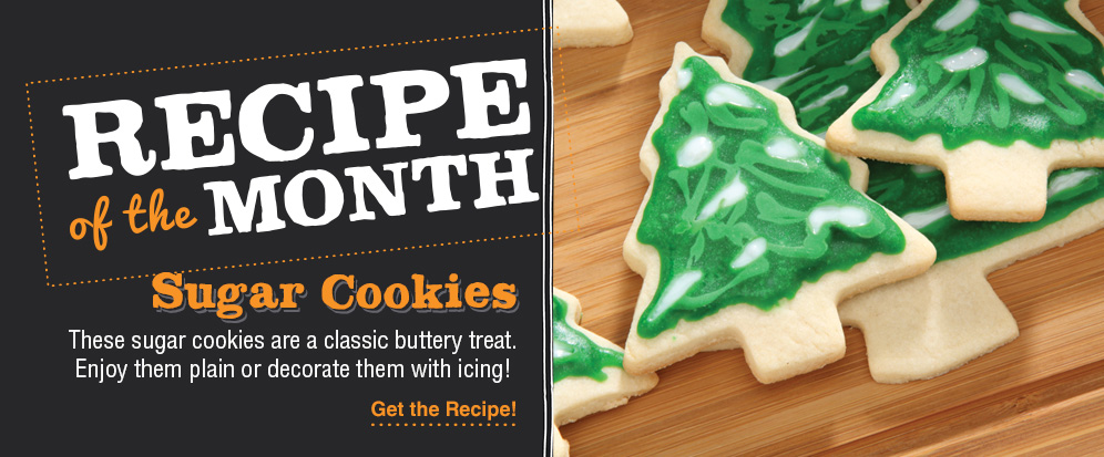 Recipe of the month – Sugar Cookies